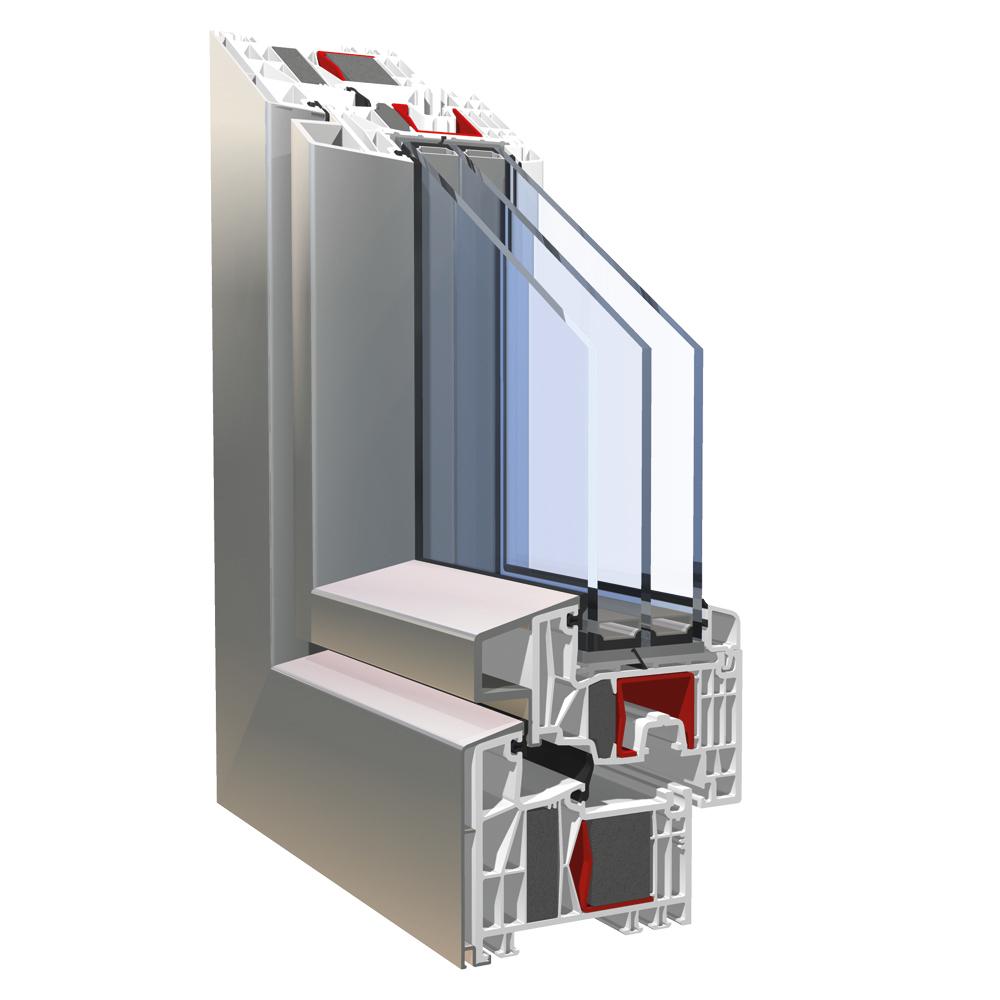 kbe 88 aluclip pro mitteldichtungssystem f r fenster kbe. Black Bedroom Furniture Sets. Home Design Ideas