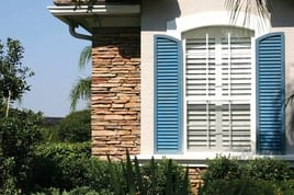 Board and French shutters of PVC-U