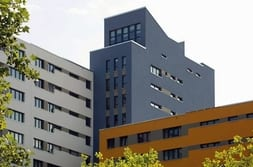 Residential quarter in Germany