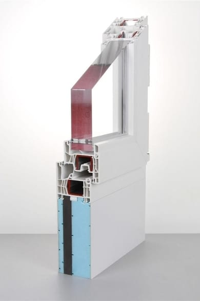 New to the profine ancillaries range: thermal insulation proEnergyTec extension profiles.